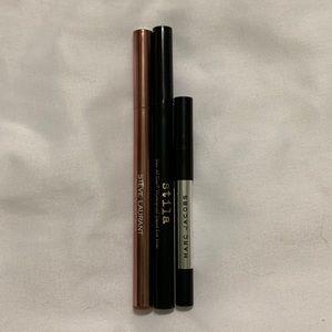 Eyeliner Set (Steve Laurant, Stila, Marc Jacobs)